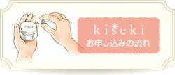 kisekiお申し込みの流れ